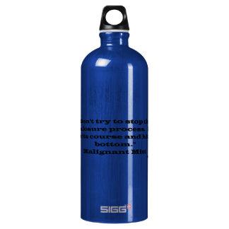 Malignant Mitt Aluminum Water Bottle