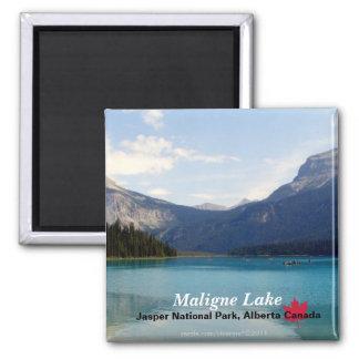 Maligne Lake/Jasper National Park, Alberta Canada Magnet