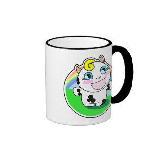 Malina y el arco iris tazas de café