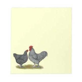 Maline Chickens Notepad