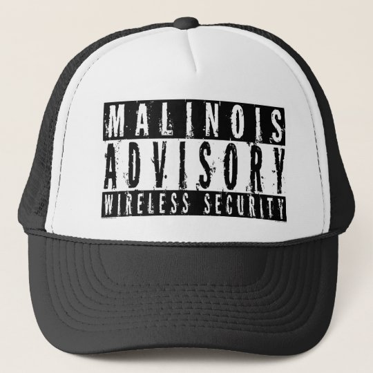 Malinois Advisory Wireless Security Trucker Hat