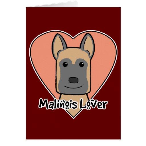 Malinois Lover Greeting Card