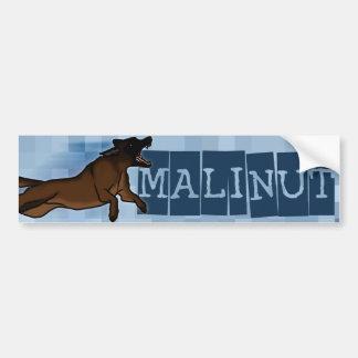 Malinut Pegatina De Parachoque