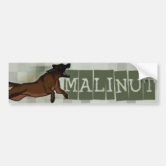 Malinut Etiqueta De Parachoque