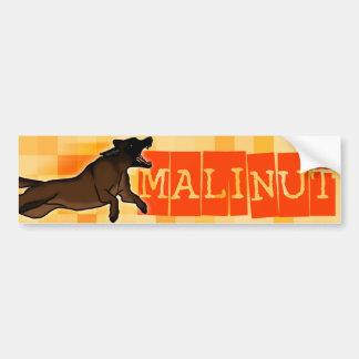 Malinut Car Bumper Sticker