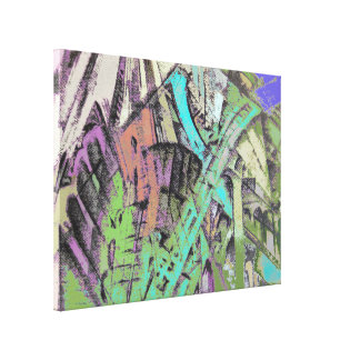 Mall Canvas Print