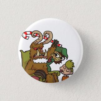 Mall Krampus Pinback Button