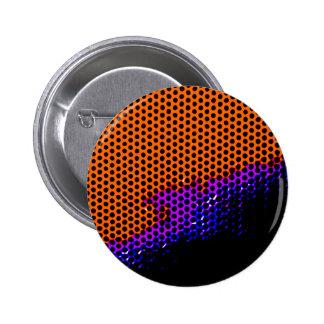 malla anaranjada de /purple chapa redonda 5 cm