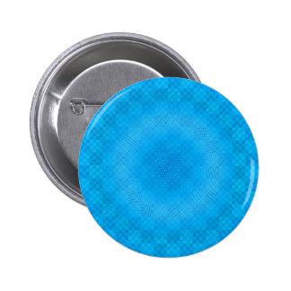 malla azul abstracta a cuadros chapa redonda 5 cm