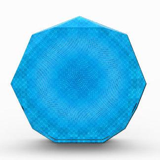 malla azul abstracta a cuadros