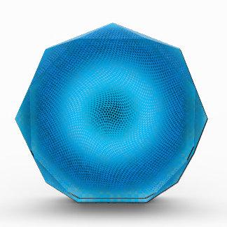 malla azul abstracta