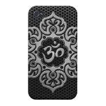 Malla de acero OM floral iPhone 4 Protectores