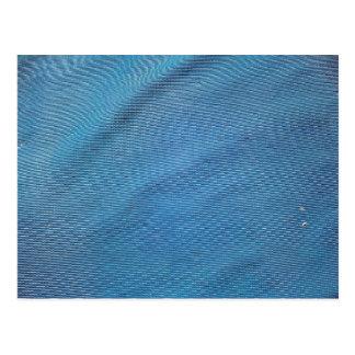 Malla plástica azul postal