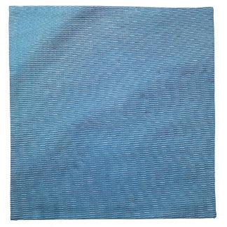 Malla plástica azul servilletas de papel