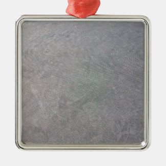 Malla plástica negra adorno navideño cuadrado de metal