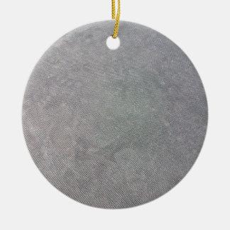 Malla plástica negra adorno navideño redondo de cerámica