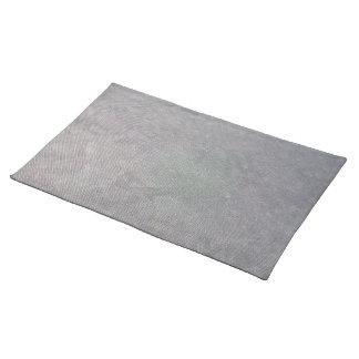 Malla plástica negra manteles individuales
