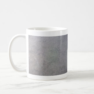 Malla plástica negra taza básica blanca