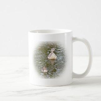 Mallard and Duckling Classic White Coffee Mug