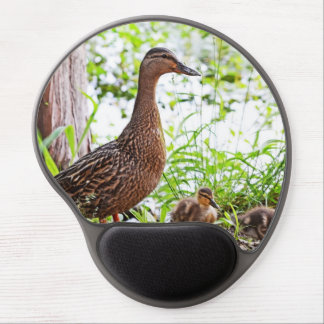 Mallard and Ducklings by Shirley Taylor Gel Mouse Pad