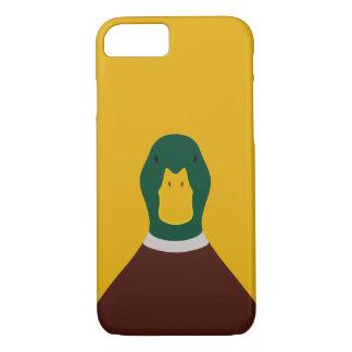 Mallard - bird illustration iPhone 7 case