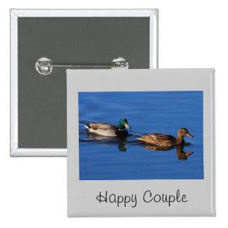 Mallard Couple Pins