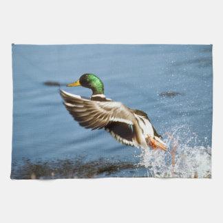 Mallard Drake Duck Hand Towel
