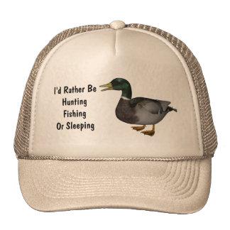 Mallard Drake Duck Wildlife Bird Hat