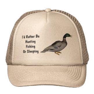 Mallard Drake Duck Wildlife Bird Trucker Hats