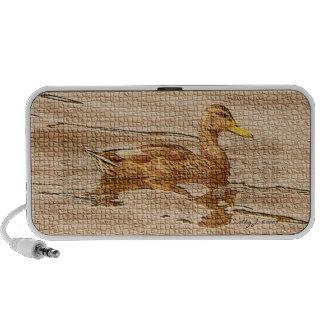Mallard Duck © 2009 S.J. iPod Speakers