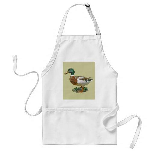 Mallard Duck Aprons