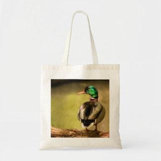 Mallard Duck Canvas Bag