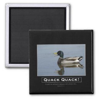Mallard Duck Demotivational Gifts Magnet