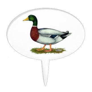Mallard Duck Drake Cake Pick