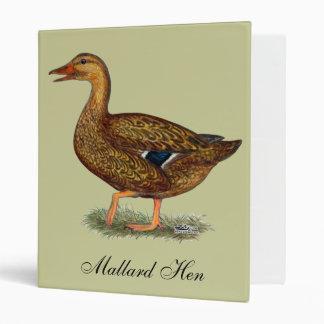 Mallard Duck Hen Binder