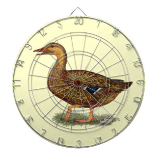 Mallard Duck Hen Dartboards