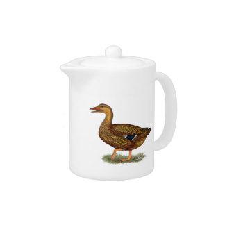 Mallard Duck Hen Teapot