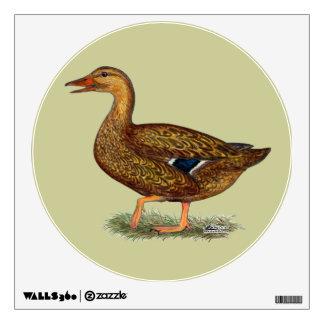 Mallard Duck Hen Wall Sticker