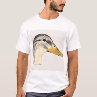 Mallard Duck Hen Watercolor T-Shirt