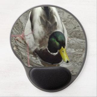Mallard Duck in Pond Gel Mouse Pad