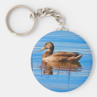 Mallard Duck Keychain