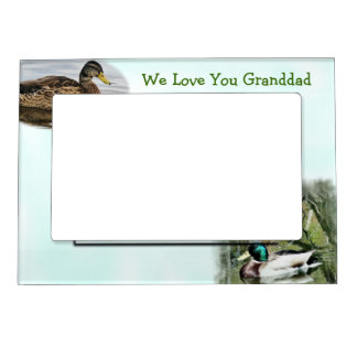 Mallard Duck Magnetic Frame2-customize Magnetic Photo Frame