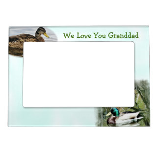 Mallard Duck Magnetic Frame-customize Magnetic Picture Frame