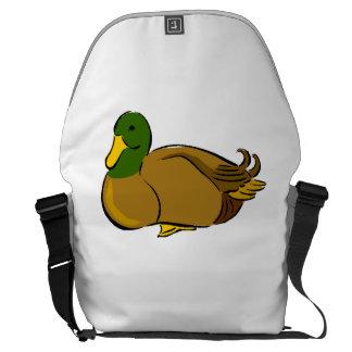 Mallard Duck Messenger Bags