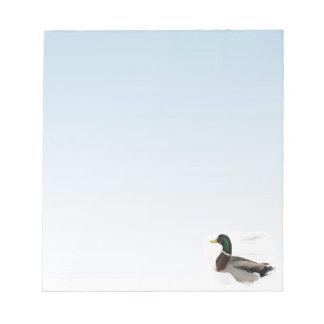 Mallard Duck Note Pad