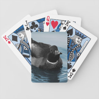 Mallard Duck Photo Bicycle Poker Deck