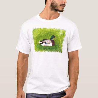 Mallard Duck T Shirts Art Picture