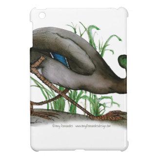 mallard duck - wild bird, tony fernandes iPad mini covers