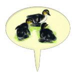 Mallard Ducklings Cake Picks