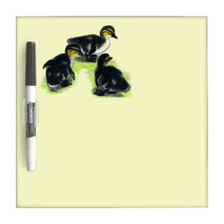 Mallard Ducklings Dry Erase Whiteboards
